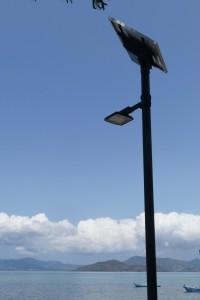 Éclairage public solaire à Pamandzi